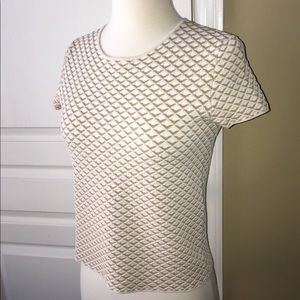 THEORY runway Ferson top